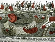 Archangel Prints - Russian Whaling, 1760 Print by Ria Novosti