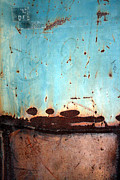 Forrests Prints - Rust and Paint 1 Print by Jennifer  Bright