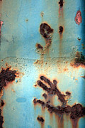 Forrests Prints - Rust and Paint 2 Print by Jennifer  Bright
