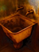 Sink Digital Art - Rust by Devalyn Marshall