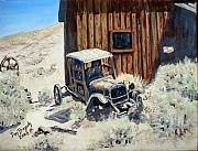 Desert Painting Originals - Rust in Peace by Dan Bozich