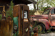 Broken Down Photos - Rust Never Sleeps by Peter Chilelli