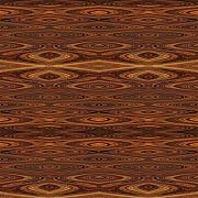 Sue Duda Digital Art Posters - Rust Tiled Poster by Sue Duda