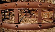 Machinery Metal Prints - Rusted Deception Metal Print by Steven Milner