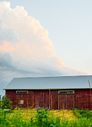 Up On The Roof Photos - Rustic Barn by Christina Klausen