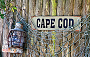 Oil Lamp Prints - Rustic Cape Cod Print by Bill  Wakeley