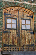 Door Hinges Posters - Rustic Door Poster by Paul Burdick