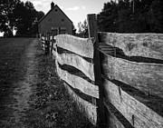 Nova Scotia Photos - Rustic Fence by John Burnett