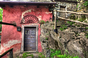 Old Wall Prints - Rustic house Print by Mats Silvan