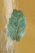 Still Life Photographs Prints - Rustic Leaf Print by Linda Sannuti