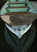 Rowboat Prints - Rustic Reflections Print by Idaho Scenic Images Linda Lantzy