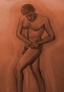 Rustic Standing Print by Cj