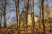 Old Stone House Photos - Rustic stone house by Mats Silvan