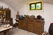 Wine Cellar Photos - Rustic Wine Cellar by Jaak Nilson