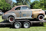 Rusted Cars Photos - Rusty 1941 Chevrolet . 5D16210 by Wingsdomain Art and Photography