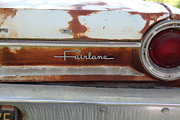 Rusty Car Photos - Rusty 1964 Ford Fairlane . 5D16191 by Wingsdomain Art and Photography