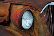 Headlamp Photos - Rusty by Bob Christopher