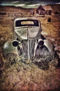 Haunted House Photo Posters - Rusty Car  Poster by Jill Battaglia