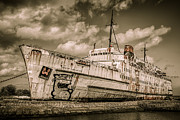 Passenger Ferry Prints - Rusty Duke Print by Adrian Evans