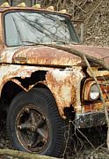 Rusty Ford Print by Luke Moore