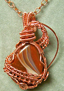 Lake Jewelry - Rusty Gate Pendant by Heather Jordan
