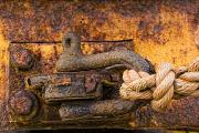 Old Objects Photos - Rusty Hook by John Short