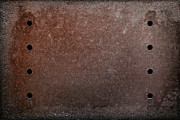 Holes Framed Prints - Rusty Iron Framed Print by Carlos Caetano