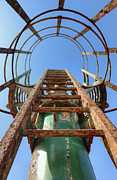 Tel Aviv Photos - Rusty Ladder by Noam Armonn