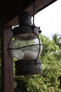 Keepers House Photos - Rusty Lantern by Christiane Schulze