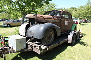 Sportscar Photos - Rusty Old 1939 Chevrolet Master 85 . 5D16196 by Wingsdomain Art and Photography