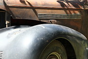 Sportscar Photos - Rusty Old 1939 Chevrolet Master 85 . 5D16197 by Wingsdomain Art and Photography