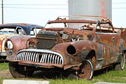 Junk Photos - Rusty Old American Car . 7D10348 by Wingsdomain Art and Photography