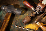 Rustic Photos - Rusty Tools by Carlos Caetano