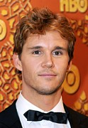 Golden Globe Framed Prints - Ryan Kwanten At The After-party For Hbo Framed Print by Everett