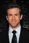 Reynolds Framed Prints - Ryan Reynolds At Arrivals For American Framed Print by Everett