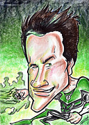 Caricature Drawings - Ryan Reynolds by Big Mike Roate
