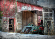 Old Barns Digital Art - Rye Valley Stock Farm by Lori Deiter