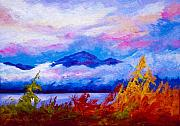 Lakes Paintings - Rythmn Of The Arctic by Marion Rose