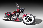 Harley Davidson Art - S and S Express by Mike McGlothlen