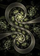 S Curve Print by David April