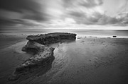 Sand And Sea Framed Prints - S-Curve Reef at Swamis  Framed Print by Larry Marshall