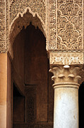 Moroccan Framed Prints - Saadian Tombs, Marrakech, Morocco Framed Print by Marco Brivio