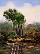 Sabal Framed Prints - Sabal Palmettos Framed Print by Phil Burton