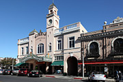 Small Towns Metal Prints - Sabastiani Theatre and Ledson Hotel - Downtown Sonoma California - 5D19270 Metal Print by Wingsdomain Art and Photography