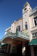 Small Towns Metal Prints - Sabastiani Theatre - Downtown Sonoma California - 5D19276 Metal Print by Wingsdomain Art and Photography