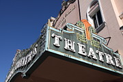 Small Towns Metal Prints - Sabastiani Theatre - Downtown Sonoma California - 5D19278 Metal Print by Wingsdomain Art and Photography