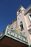 Small Towns Metal Prints - Sabastiani Theatre - Downtown Sonoma California - 5D19279 Metal Print by Wingsdomain Art and Photography