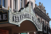 Small Towns Prints - Sabastiani Theatre - Downtown Sonoma California - 5D19288 Print by Wingsdomain Art and Photography