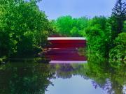 Sachs Covered Bridge - Gettysburg Pa Print by Bill Cannon
