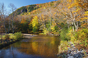 Saco River Framed Prints - Saco River - White Mountains National Forest New Hampshire Framed Print by Erin Paul Donovan